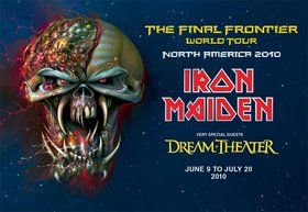 Iron Maiden: IRON MAIDEN, Dream Theater @ Rogers Arena Jun 24 2010 - Feb 22nd @ Rogers Arena