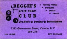 Reggies Club