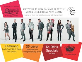 The Phonix @ Shark Club Nov 2 2012 - Sep 19th @ Shark Club