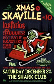 Xmas in Skaville #10: Los Furios, The EliXXXirs, Dj Ska-t, Ivy League Brawlers, HHH acoustic @ Shark Club Dec 8 2012 - Sep 19th @ Shark Club