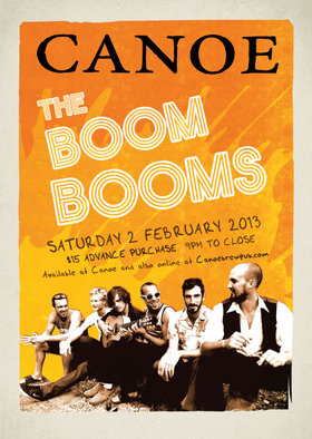 The Boom Booms @ Canoe Brewpub Feb 2 2013 - Jul 21st @ Canoe Brewpub