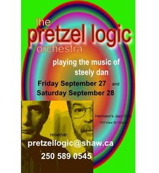 Pretzel Logic Orchestra - The music of Steely Dan from Victoria BC