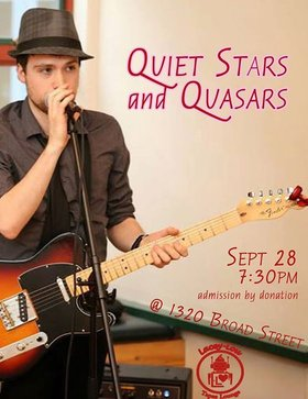 Quiet Stars and Quasars, Nic Whitehouse @ Lacey-Lou Tapas Lounge Sep 28 2014 - Jul 19th @ Lacey-Lou Tapas Lounge