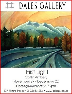 First Light by Caitlin Ambery @ Fortune Gallery Nov 27 2014 - Feb 16th @ Fortune Gallery