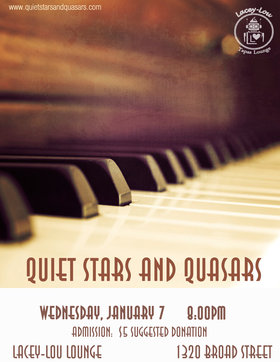 intimate night of music: Quiet Stars and Quasars @ Lacey-Lou Tapas Lounge Jan 7 2015 - Jul 19th @ Lacey-Lou Tapas Lounge