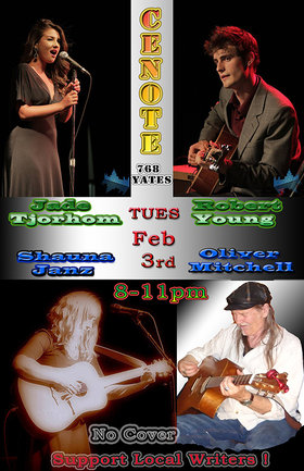 Oliver Mitchell, Shauna Janz, Jade Tjorholm & Robert Young @ Cenote Feb 3 2015 - May 22nd @ Cenote
