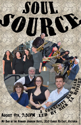 Soul Source  @ My Bar and Grill Aug 9 2015 - Jul 23rd @ My Bar and Grill
