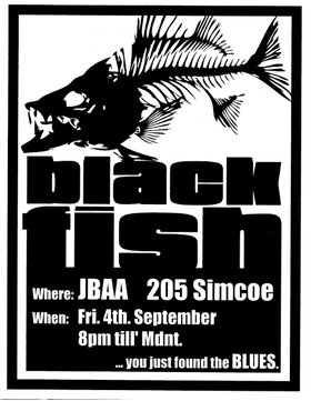Pre Blues Bash Party: Blackfish @ James Bay Athletic Association Sep 4 2015 - Jan 16th @ James Bay Athletic Association