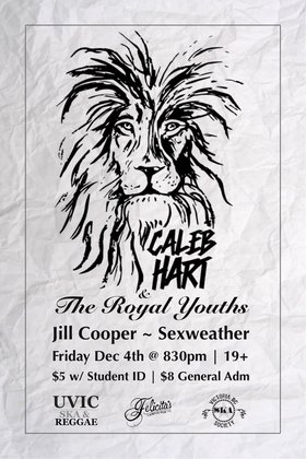 The Royal Youths, Jill Cooper, SEXWEATHER @ Felicita's Pub Dec 4 2015 - Jan 16th @ Felicita's Pub