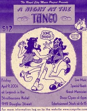 A Night at The Tango: Rukus, Morning Star, Invasion, Freefall @ Element Apr 9 2004 - Aug 20th @ Element