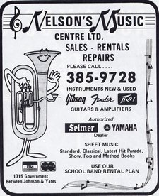 Nelsons Music Centre Ltd.