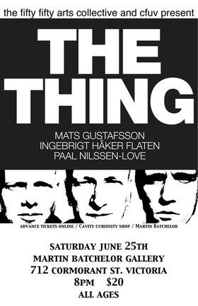 THE THING @ Martin Batchelor Gallery Jun 25 2016 - Mar 21st @ Martin Batchelor Gallery