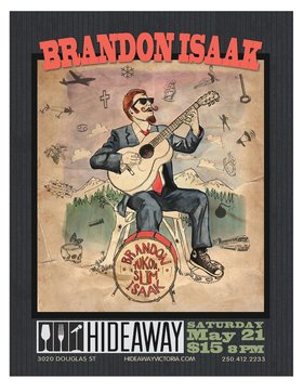 Brandon Isaak @ Hideaway Café May 21 2016 - Dec 12th @ Hideaway Café