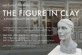 The Figure in Clay - Sculpture Show: Melanie Furtado, Sculptors of Melanie Furtado Studios @ Fortune Gallery May 28 2016 - Feb 16th @ Fortune Gallery