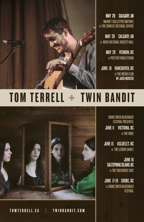Twin Bandit  , Tom Terrell @ The Duke Saloon Jun 11 2016 - Jan 20th @ The Duke Saloon