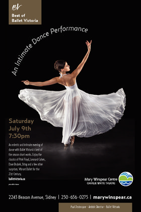 Best of Ballet Victoria @ The Mary Winspear Centre Jul 9 2016 - Aug 21st @ The Mary Winspear Centre