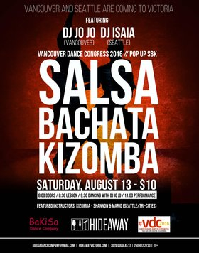 POPUP SKB Dance Party: DJ Jojo, DJ Isaias @ Hideaway Café Aug 13 2016 - Dec 12th @ Hideaway Café