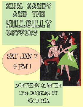 Slim Sandy and the Hillbilly Boppers @ Northern Quarter Jan 7 2017 - Mar 23rd @ Northern Quarter