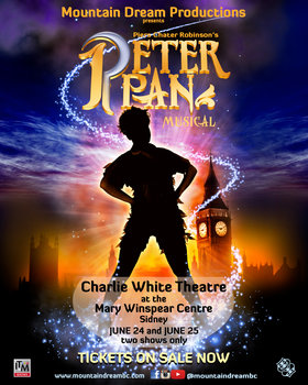 Peter Pan, The British Musical @ The Mary Winspear Centre Jun 24 2017 - Feb 17th @ The Mary Winspear Centre