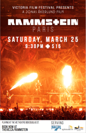 Rammstein: Paris, at The Vic: RAMMSTEIN @ Vic Theatre Mar 25 2017 - Jan 20th @ Vic Theatre