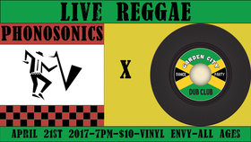 Phonosonics 45 Single Release + Garden City Dub Club: Phonosonics, Garden City Dub Club @ Vinyl Envy Apr 21 2017 - Dec 10th @ Vinyl Envy