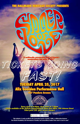 Summer of Love-1967: Glenn Parfitt @ Alix Goolden Performance Hall Apr 25 2017 - Mar 20th @ Alix Goolden Performance Hall
