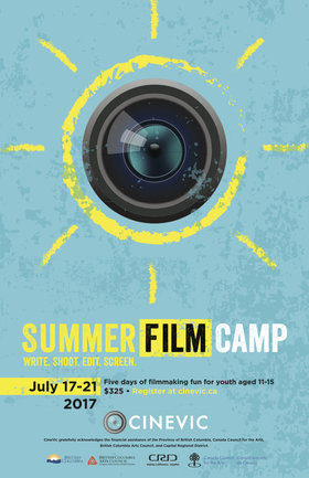 CineVic Summer Film Camp @ St. Ann's Academy Auditorium Jul 17 2017 - Dec 10th @ St. Ann's Academy Auditorium