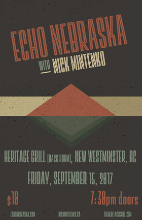 Echo Nebraska, Nick Mintenko @ The Heritage Grill Sep 15 2017 - Feb 16th @ The Heritage Grill