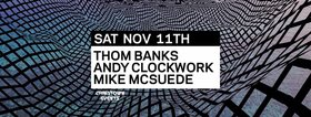 Frequency Saturdays featuring: Thom Banks, Andy Clockwork, Mike McSuede @ Copper Owl Nov 11 2017 - Dec 9th @ Copper Owl