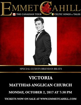 Emmet Cahill's Ireland: Emmet Cahill @ St Matthias Church Oct 2 2017 - Dec 9th @ St Matthias Church