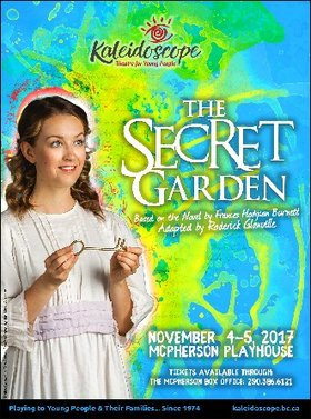 The Secret Garden @ McPherson Playhouse Nov 4 2017 - Dec 9th @ McPherson Playhouse