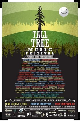 Tall Tree Music Festival: Kytami, Zoubi and the Sea @ Tall Tree Music Festival Jul 2 2016 - Aug 24th @ Tall Tree Music Festival
