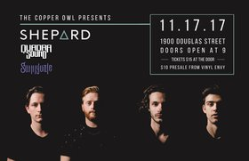 Shepard, Quadra Sound, Sunnyvale @ Copper Owl Nov 17 2017 - Dec 9th @ Copper Owl