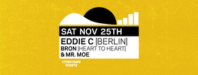 Frequency Saturday with: Eddie C , Bron, Mr. Moe @ Copper Owl Nov 25 2017 - Dec 9th @ Copper Owl