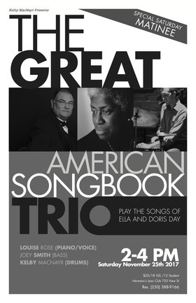 Great American Song Book Trio @ Hermann