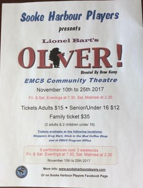 Oliver @ EMCS Nov 17 2017 - Dec 9th @ EMCS