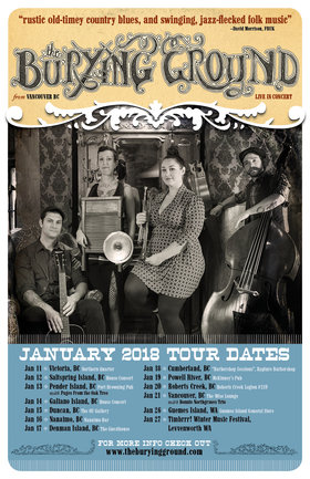 Country Blues & Ragtime On Tour: The Burying Ground @ Northern Quarter Jan 11 2018 - Dec 11th @ Northern Quarter