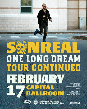 Sonreal, Brevner @ Capital Ballroom Feb 17 2018 - Feb 22nd @ Capital Ballroom