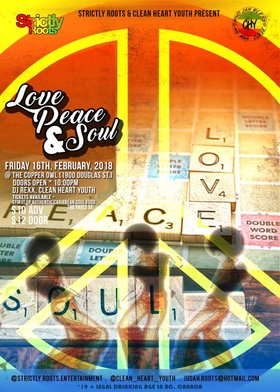 Love, Peace & Soul: DJ Rexx, Clean Heart Youth @ Copper Owl Feb 16 2018 - Feb 22nd @ Copper Owl