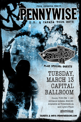 Pennywise, Strung Out @ Capital Ballroom Mar 13 2018 - Dec 17th @ Capital Ballroom