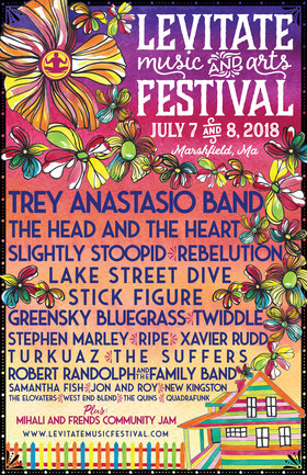 Jon and Roy, Trey Anastasio Band, The Head and the Heart, Xavier Rudd @ Levitate Music Festival Jul 7 2018 - Aug 25th @ Levitate Music Festival