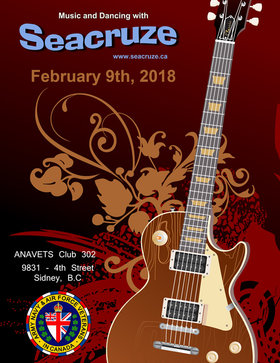 Seacruze 2.0 at  ANAF Sidney: Seacruze @ ANAVETS Club 302 Feb 9 2018 - Feb 23rd @ ANAVETS Club 302