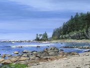 West Coast Trail by  Carol Borrett