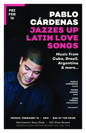 Pablo Cardenas Jazzes up Latin Love Songs @ Hermann