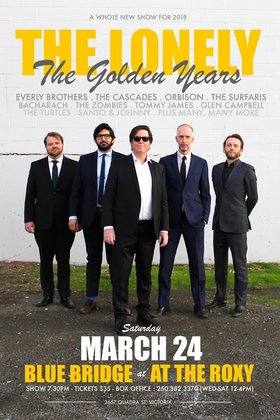 The Lonely - the Golden Years: Mike Demers @ Blue Bridge at the Roxy Mar 24 2018 - Dec 15th @ Blue Bridge at the Roxy