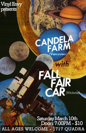 Fall Fair Car, Candela Farm @ Vinyl Envy Mar 10 2018 - Dec 11th @ Vinyl Envy