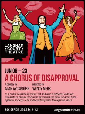 A Chorus of Disapproval @ Langham Court Theatre Jun 6 2018 - Dec 13th @ Langham Court Theatre