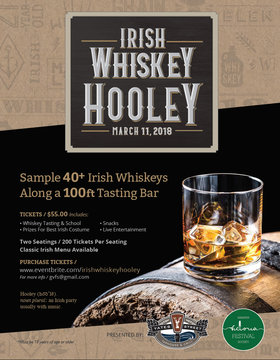 1st Annual Irish Whiskey Hooley: Cookeilidh, Knacker