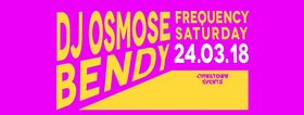 Frequency Saturdays w/: DJ OSMOSE , BENDY @ Copper Owl Mar 24 2018 - Dec 18th @ Copper Owl