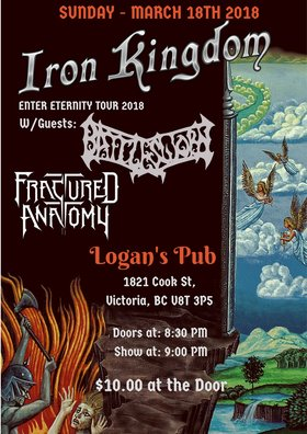 Iron Kingdom, Battlesworn, Fractured Anatomy @ Logan